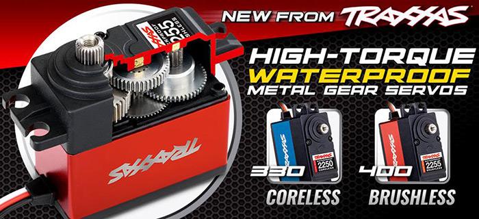 Digital high-Torque 400 brushless Ball Bearing Servo Waterproof Metal Gear Traxxas 2255