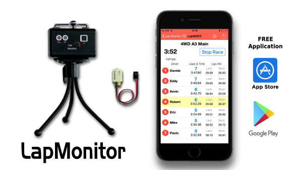 LapMonitor: Nuova App per Android e iOS
