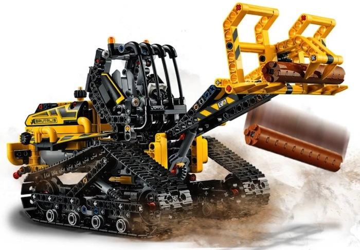 LEGO Technic: Ruspa cingolata Tracked Loader (42094)
