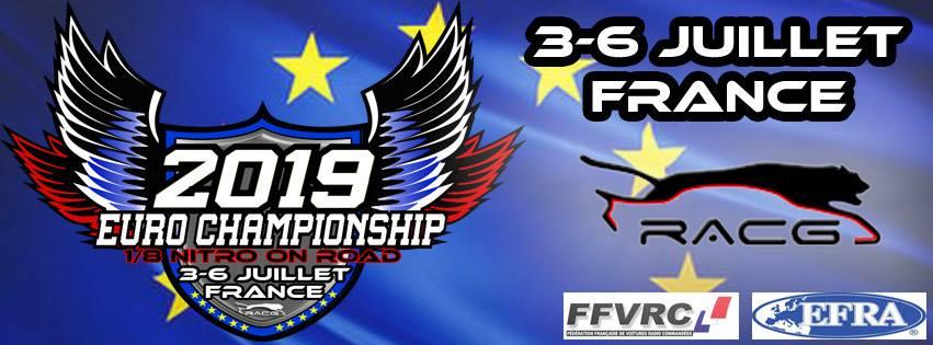 Campionati Europei EFRA 1/8 Pista 2019: segui le finali in diretta!