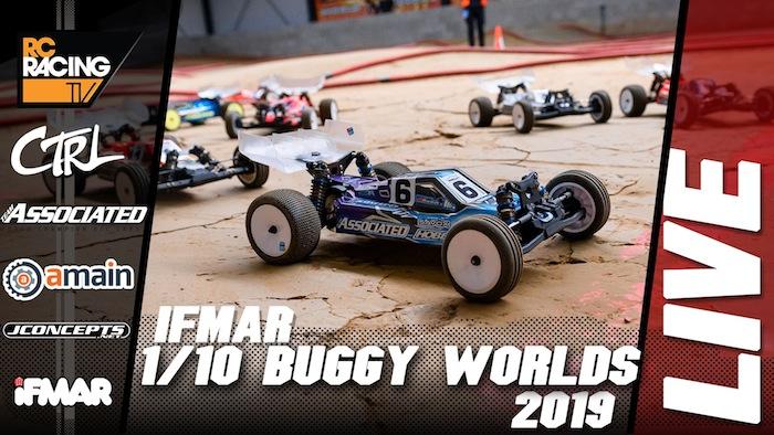 Segui in diretta le finali dei mondiali 2019 buggy 1/10 4WD!