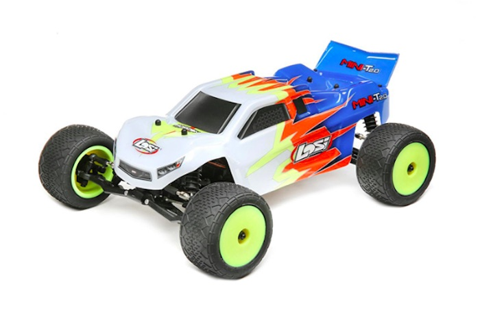 Losi: Mini-T 2.0 RTR Stadium Truck in scala 1/18
