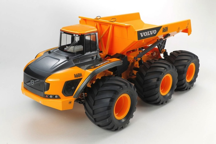 TAMIYA: VOLVO A60H Hauler 6x6 G6-01 - Video