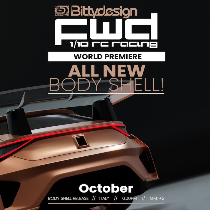 Bittydesign: Carrozzeria FWD Touring Car - Teaser